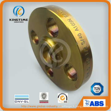 Bride forgée de bride de bride d'acier au carbone d'ASME B16.5 forgée avec TUV (KT0400)