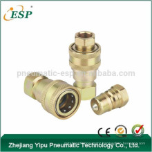 hydraulic push in fittings hydraulic quick connect component hose valve