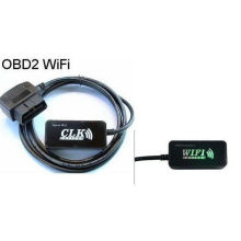 Lector de código de diagnóstico de Clk OBD 2 WiFi Elm327 para Ios