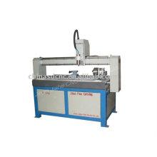 JK-6015 madeira CNC máquina com dispositivo giratório
