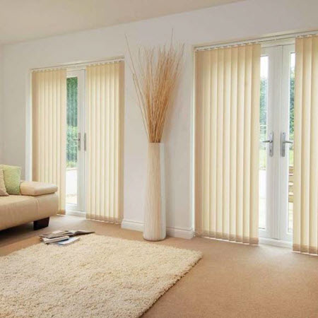 127MM FABRIC VERTICAL BLINDS