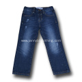 high quality dark blue wash jeans