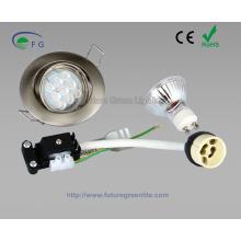 Комплект светодиодных светильников GU10 / MR16, включая светильник, ламповый патрон и лампу