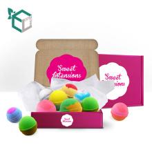 Skin care bath bomb gift set packaging box