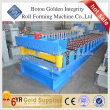 Machine de fabrication de feuilles de toiture et machine de fabrication de feuilles de toit ondulé en provenance de Chine