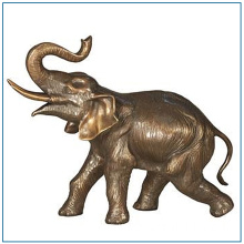Large Life Size Bronze Elephant Statue for Sale