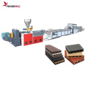 Wood Plastic Compound Profiles Extrusion Line WPC frame and door production plant