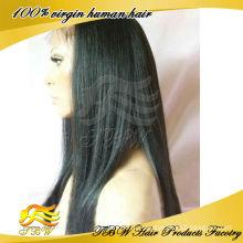 Оптовая индийский Реми человеческого волоса итальянский яки кружева перед парик