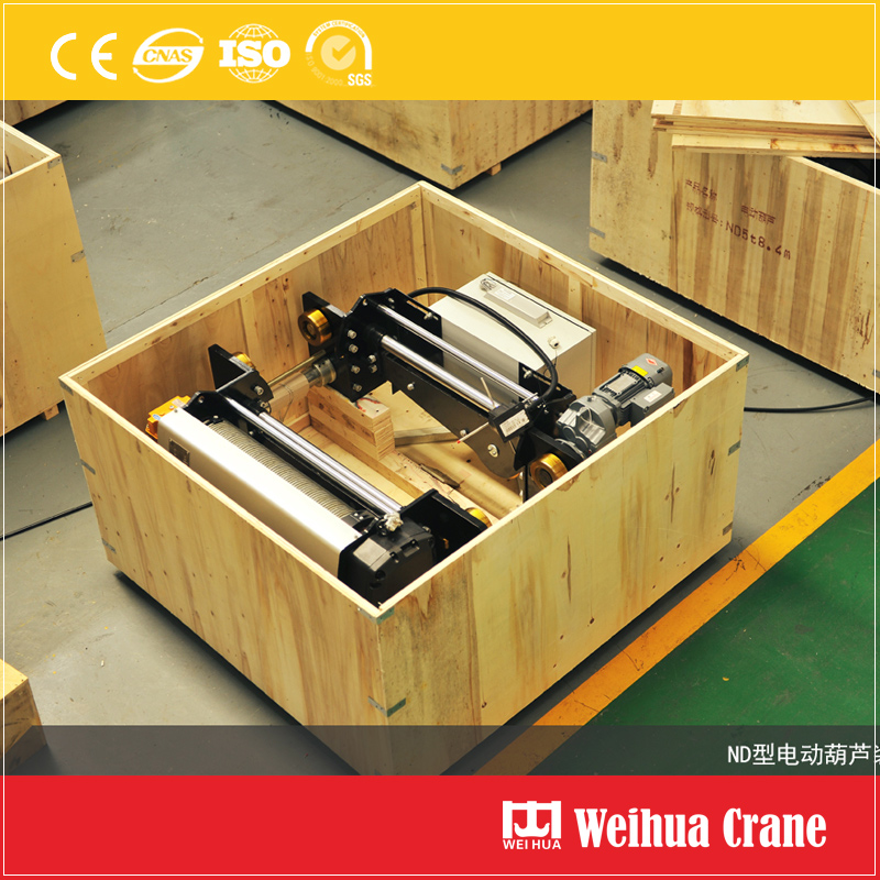 Electric Hoist Wooden Case Packing