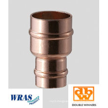 22 X 15mm Solder Ring Copper Reducing Coupling