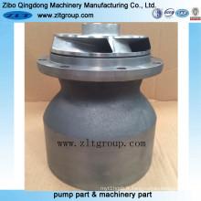 Pièces de pompe à eau d'acier inoxydable / fonte
