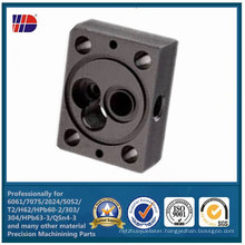 High Precision CNC Machining Shop for Plastic POM Black Parts