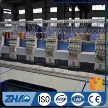 Multi- cabezas bordado plano máquina computerizada venta caliente en la India