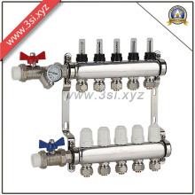 Séparateur hydraulique de vente chaude pour le chauffage de plancher de maison (YZF-M563)