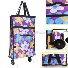 Yongkang factory unique portable folding shopping bag