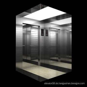Maschinenraum weniger Aufzug
