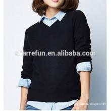 дамы кашемировый свитер