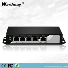 WDM Hot Jual 4chs penuh 1000M POE Switcher