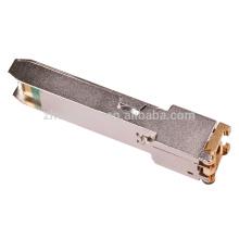 ASF-GE-T SFP Émetteur-récepteur sfp en cuivre modulaire rj45 avec Rosh, FC, CE