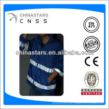 EN471 / ANSI impermeável azul reflexivo