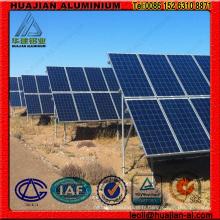 Support d'aluminium à énergie solaire