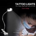 Увеличительное лампы прокатки клип стенд кожи лица светодиод татуировки свет таблицы
