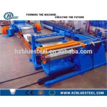Горячая продажа Полностью автоматическая цветная оцинкованная листовая листовая пластина из нержавеющей стали, разрезанная на линию длины / машина