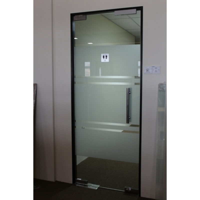 10mm Tempered Glass Door