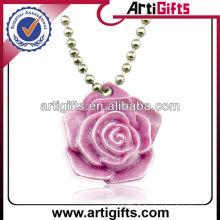 2013 nouveau style mode résine fleur pendentif