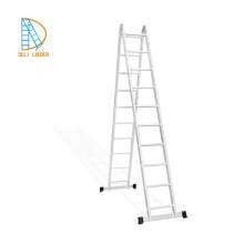 6step 7step 8 step aluminum straight ladder, scaffold ladder