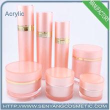 2015 новые косметические бутылки акриловые банки контейнеров, акриловые бутылки лосьон контейнер