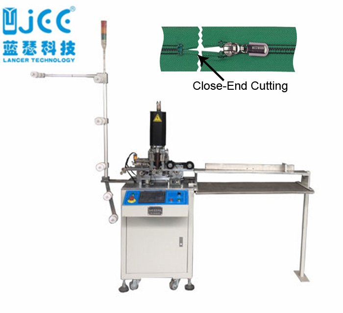 Full Automatic Nylon Zipper Ultrasonic Cutting Machine