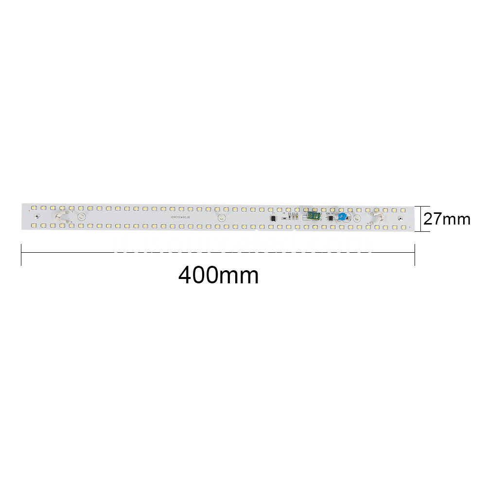 White light Ac driverless Dimming 9W AC LED Module Strip size