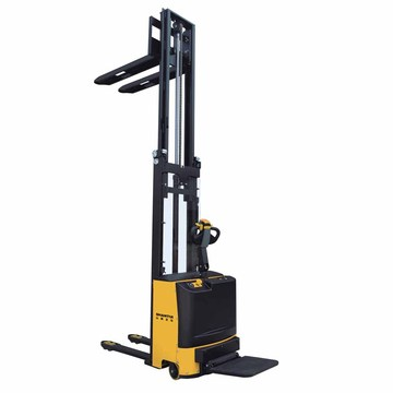 1.5 tan 4.5 meter walkie stacker forklift