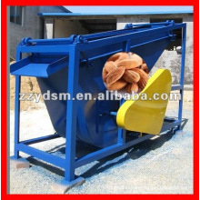 almond separating machine for shells and kernels