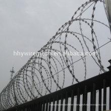 hot dipped galvanized razor wire sharp anti-climb concertina razor wire