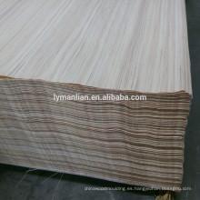 puerta de chapa de diseño / de chapa de teca reconstituida / precio de eucalipto