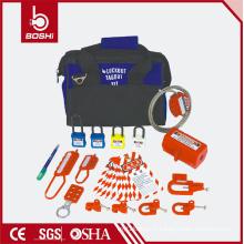 Kit de verrouillage de sécurité départemental et collectif BD-Z13, sac à combinaison d'isolation électrique