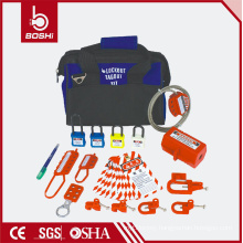 Departmental and Group Safety Lockout Kit BD-Z13 , Electrical isolation combination bag