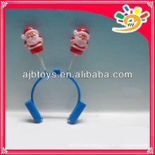 Weihnachten Sankt Dekor Haarclips, Kunststoff Weihnachten Ornament Santa Haarclip, Weihnachtsgeschenk