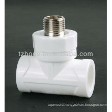 PVC/PPR water supply pipe fitting mould