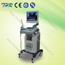 Thr-Us9902 3D Medical Trolley Ultrasound Scanner