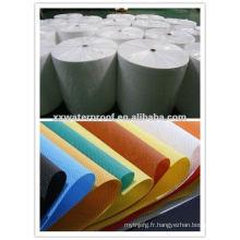 Membrane imperméable à l'eau en tissu multicolore en PP non tissé