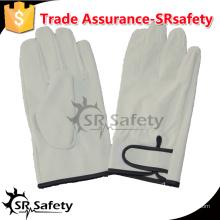 SRSAFETY сохранение тепла PIG зерно leahter вождение перчатки / зимние перчатки для защиты от холода, волшебная пряжка