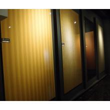 Panneau MDF à haute teneur en bois Woodgrain UV (épaisseur 18mm de couleur)