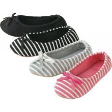 Senhoras confortáveis sapatos de interior para manter quente mulheres deslizador