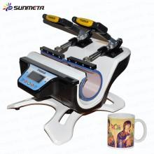 Máquina de transferencia de calor de doble taza de sublimación