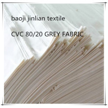 First Classic CVC 80 20 Woven Grey Fabric