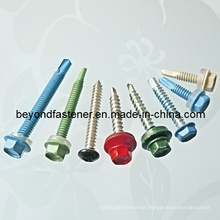 Color Screw Coating Head Screw Self Drilling Screw Self Tapping Screw