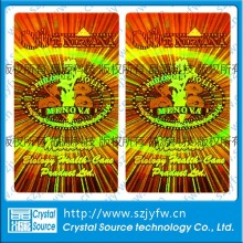 Self Adhesive Holographic Security Label